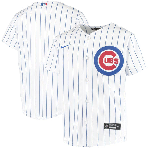 Youth Chicago Cubs Nike White Home Replica Team Jersey