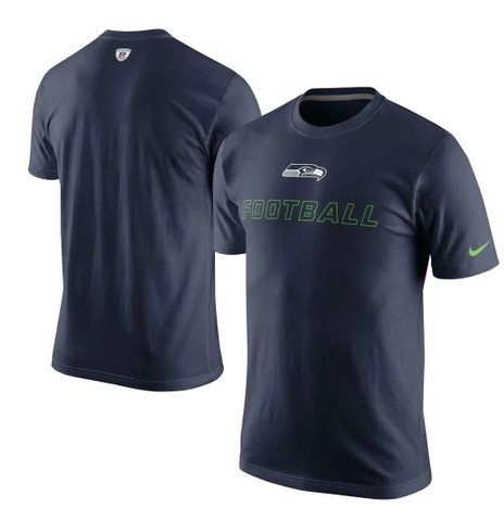 Men's NFL Nike Seattle Seahawks Countdown Training Day Tee