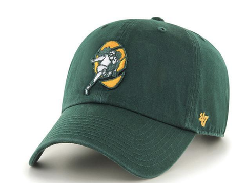 ba38c4b6f4bf5 Green Bay Packers Legacy Green Clean Up Adjustable Hat By 47 Brand