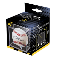 Baseball Clear Square UV Holder By Ultra Pro