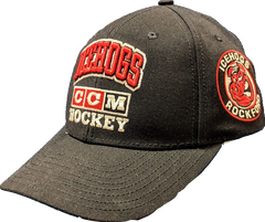 AHL Rockford IceHogs Men's CCM Stand Out Structured Adjustable Cap