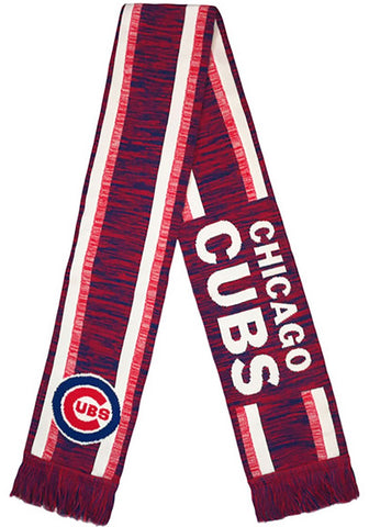 Chicago Cubs MLB Color Blend Scarf By Forever Collectibles