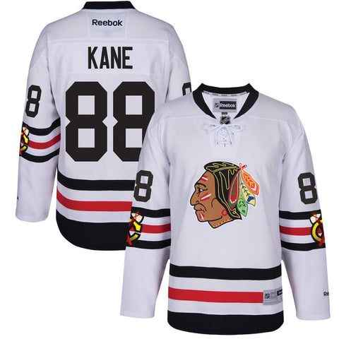 Men's Chicago Blackhawks Patrick Kane 2017 Winter Classic Premier Jersey