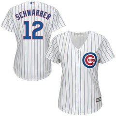 Kyle Schwarber Womens Chicago Cubs Home Replica Cool Base Jersey