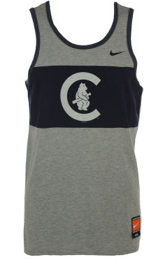 Men's Chicago Cubs Nike MLB Coop Tri Tank Top