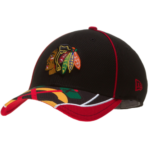 Toddler/Child NHL Chicago Blackhawks Junior Team Illusion Flex Fit 39THIRTY Cap By New Era