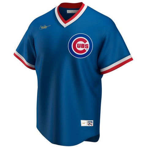 Chicago Cubs 1994 Royal Blue Cooperstown Jersey by Nike