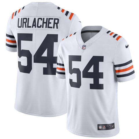 Men's Chicago Bears Brian Urlacher Nike White 2019 Alternate Classic Retired Player Limited Jersey