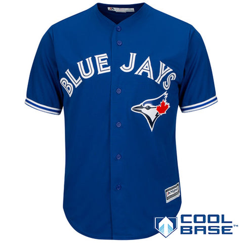 Men's Toronto Blue Jays Majestic Royal Alternate Cool Base Team Jersey