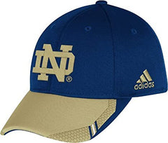 Adidas Notre Dame Fighting Irish 2013 Sideline Coaches Flex Hat - Navy