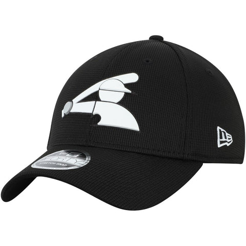 Men's Chicago White Sox New Era Black Clubhouse 9FORTY Adjustable Snapback Hat