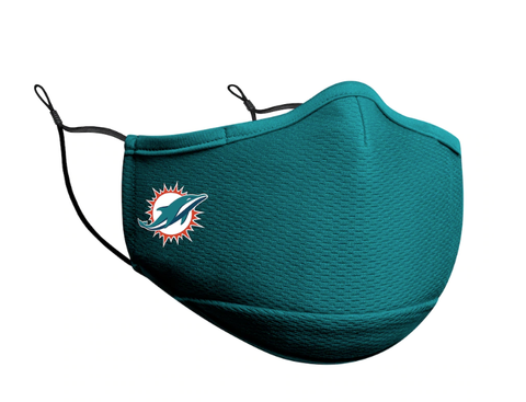 Adult Miami Dolphins New Era Team Color On-Field Face Mask