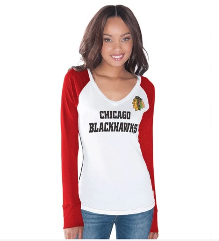 Women's Chicago Blackhawks Team Pride Long Sleeve T-Shirt by Touch by Alyssa Milano