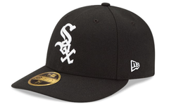Men's Chicago White Sox New Era Black Authentic Collection On Field Low Profile Game 59FIFTY Fitted Hat