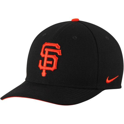 San Francisco Giants Nike Black Wool Classic Adjustable Performance Hat