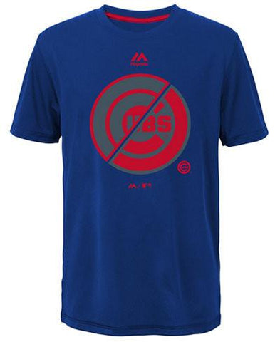 Youth Chicago Cubs Split Series Ultra T-Shirt By Majestic