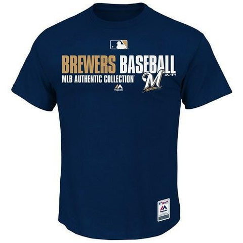 Men's MLB Milwaukee Brewers Authentic Collection Team Favorite T-Shirt