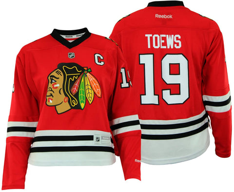 NHL Chicago Blackhawks Youth Girls Jonathan Toews Jersey