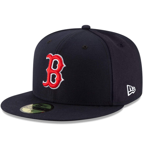 Men's Boston Red Sox New Era Navy Game Authentic Collection On-Field 59FIFTY Fitted Hat
