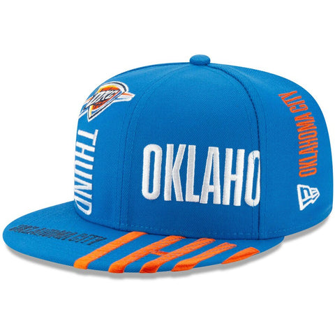 Men's Oklahoma City Thunder Blue 2019 NBA Tip-Off Series 9FIFTY Adjustable Hat