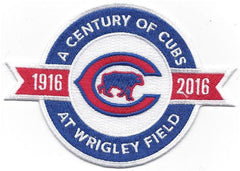 2016 Chicago Cubs Wrigley Field 100th Anniversary Jersey Patch - Pro Jersey Sports - 1