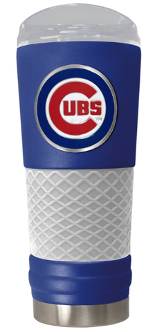 Chicago Cubs The Draft 24 oz Vacuum Insulated Team Color Stainless Steel Beverage Cup