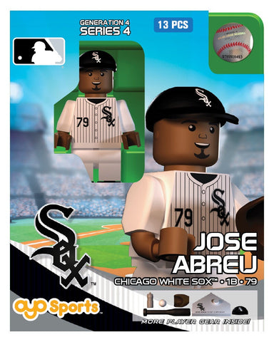 Chicago White Sox Jose Abreu OYO MLB Mini Figure Series 4