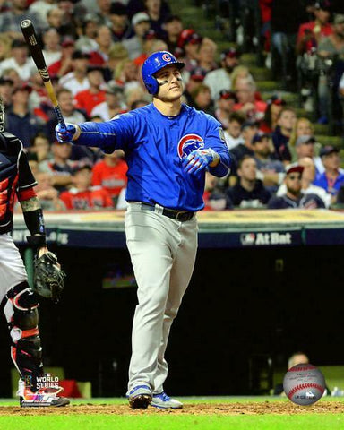 Anthony Rizzo Chicago Cubs 2016 World Series Home Run Photo (Size: 11X14)