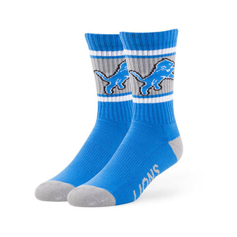 Detroit Lions Men's Blue Raz Duster 47 Sports Socks, 47 Brand