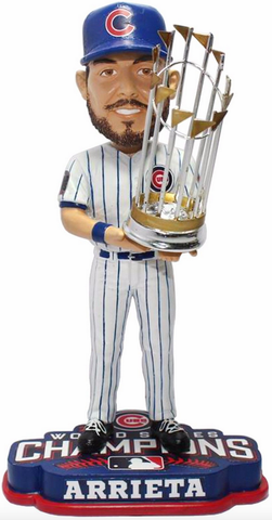 Chicago Cubs 2016 World Series Champions Jake Arrieta Bobblehead By Forever Collectibles