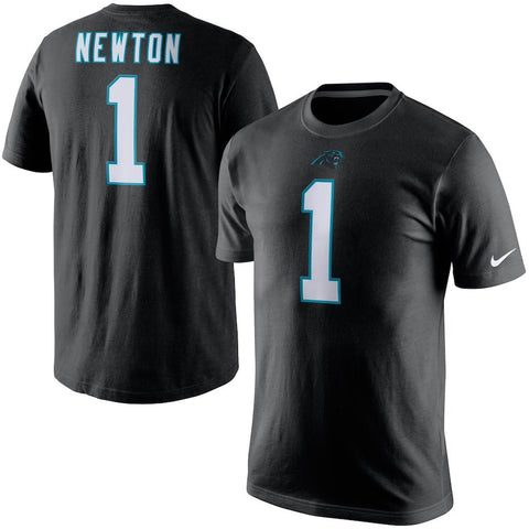 Cam Newton Carolina Panthers Nike Player Name & Number T-Shirt