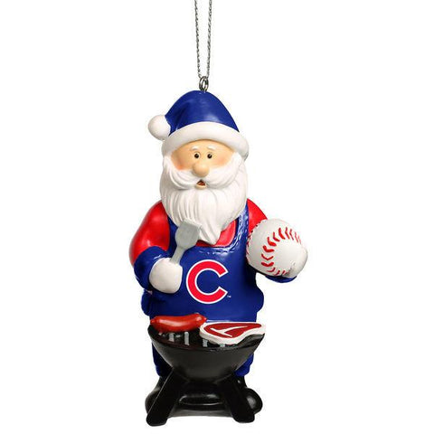 Chicago Cubs Santa Grill Ornament