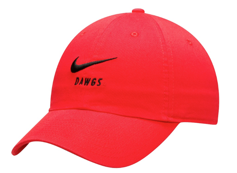 Georgia Bulldogs Nike Big Swoosh Heritage 86 Adjustable Hat
