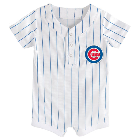 Chicago Cubs Newborn & Infant Jersey Romper