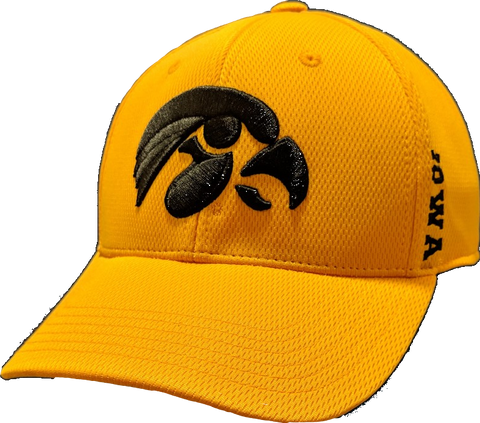 Iowa Hawkeyes Gold Top of the World NCAA Booster Cap