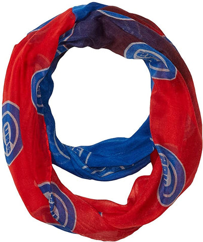 MLB Women's Chicago Cubs Gradient Infinity Scarf