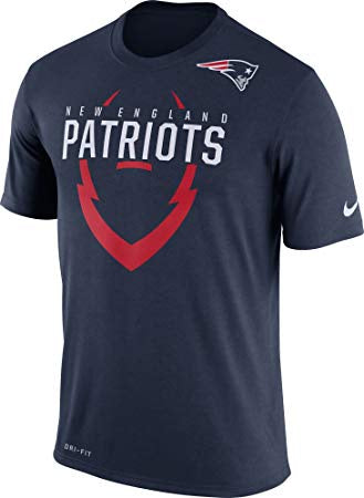 YOUTH NIKE New England Patriots Navy Icon Performance T-Shirt