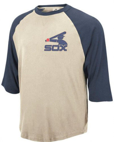 Chicago White Sox Cooperstown Rotation 3/4 Raglan Sleeve Jersey Shirt