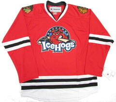 AHL Youth Rockford IceHogs Premier Red Home Jersey
