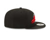 Houston Rockets Logo Tear Black New Era 9FIFTY Snapback Hat