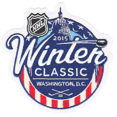 2015 NHL Winter Classic Game Washington Capitals v.s. Chicago Blackhawks Jersey Patch