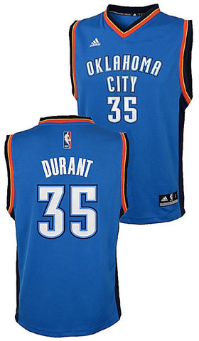 Youth Kevin Durant Oklahoma City Thunder Road Replica Swingman Jersey