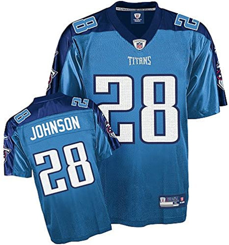 Youth Tennessee Titans Chris Johnson Alternate Reebok Jersey