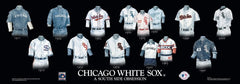 Chicago White Sox Evolution History Uniforms Plaque