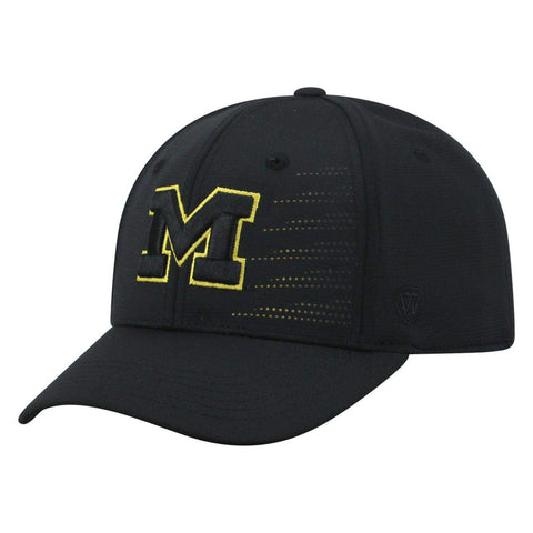 Mens Michigan Wolverines Dazed One Fit Flex Fit Hat By Top Of The World