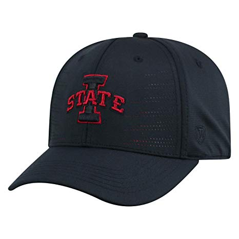 Mens Iowa State Cyclones Dazed One Fit Flex Fit Hat By Top Of The World