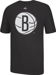 adidas Brooklyn Nets Black Basketball Static T-Shirt