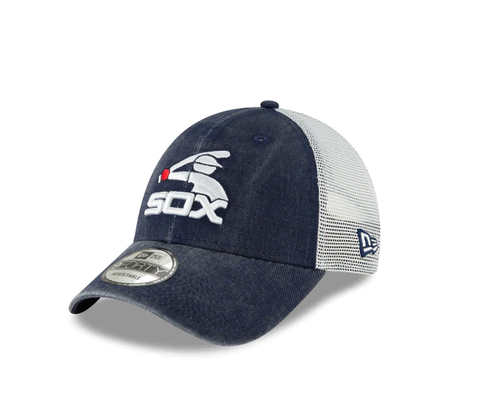 Chicago White Sox Cooperstown Collection Batterman New Era Trucker 9FORTY Adjustable Snapback Hat