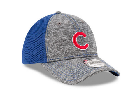 Chicago Cubs Junior Shadow Turn Adjustable Hat By New Era