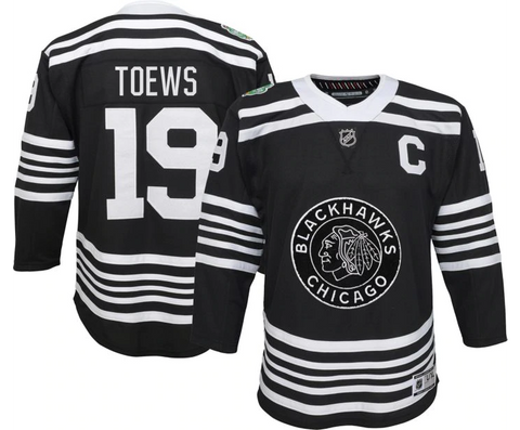 Youth Jonathan Toews Chicago Blackhawks 2019 Winter Classic Premier Jersey